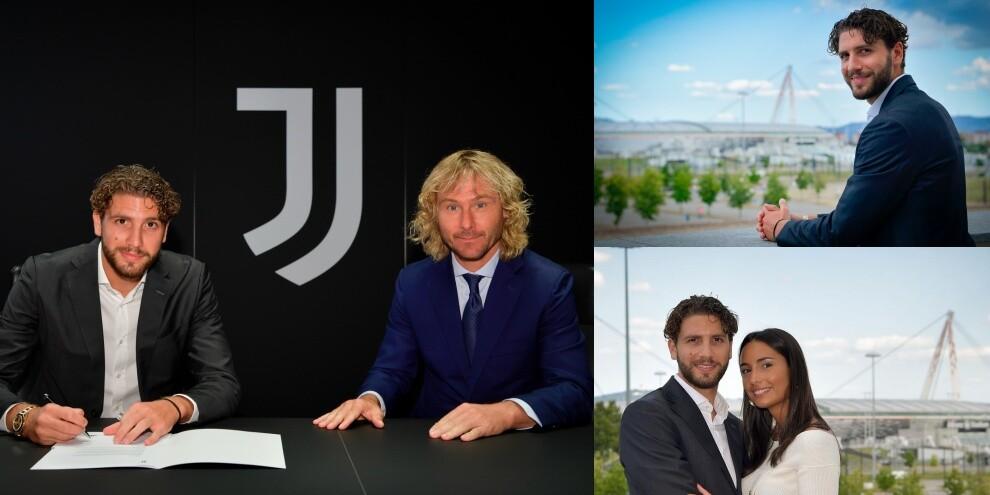 Locatelli, Stadium e firma con la Juve FOTO