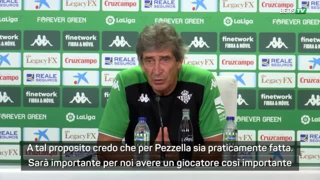 """Pellegrini annuncia Pezzella al Betis: """"È praticamente nostro"""""""
