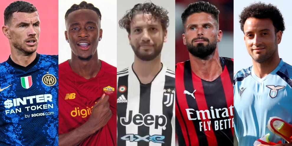 Serie A, via alla stagione 2021/22: le nuove formazioni dei 20 club