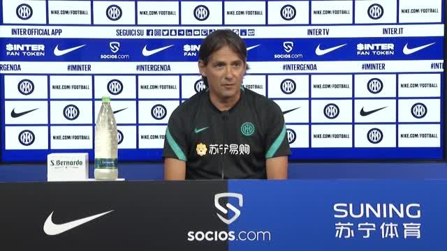 """Inter, Inzaghi: """"Abbiamo motivazioni da vendere"""""""