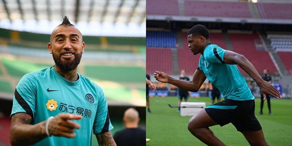 L'allegria di Vidal contagia l'Inter. Dumfries sfreccia