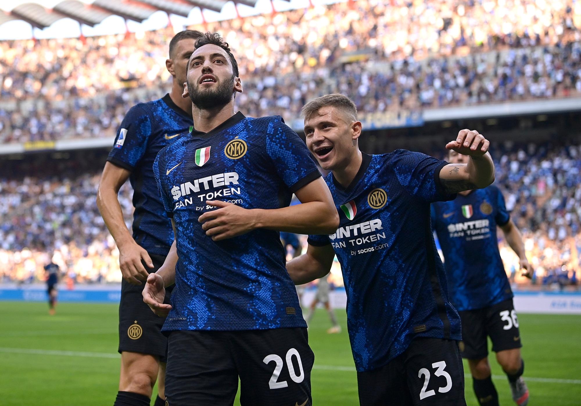 Calhanoglu e Dzeko, è subito show: Inter-Genoa 4-0