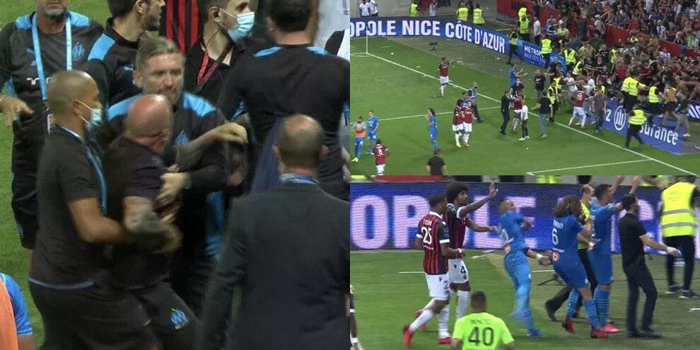 Caos in Nizza-Marsiglia: Sampaoli è una furia!