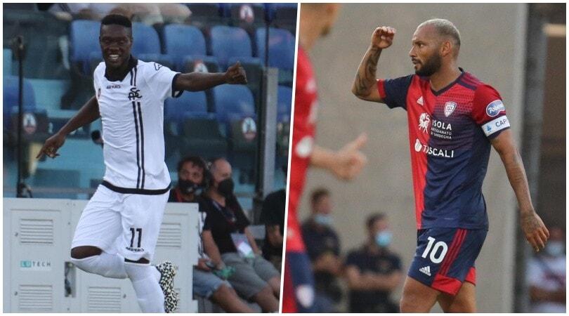 Joao Pedro ferma Thiago Motta: Cagliari-Spezia finisce 2-2