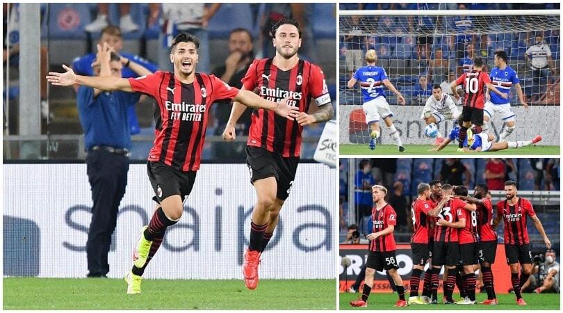 Milan, Brahim Diaz fa sorridere Pioli: Sampdoria ko