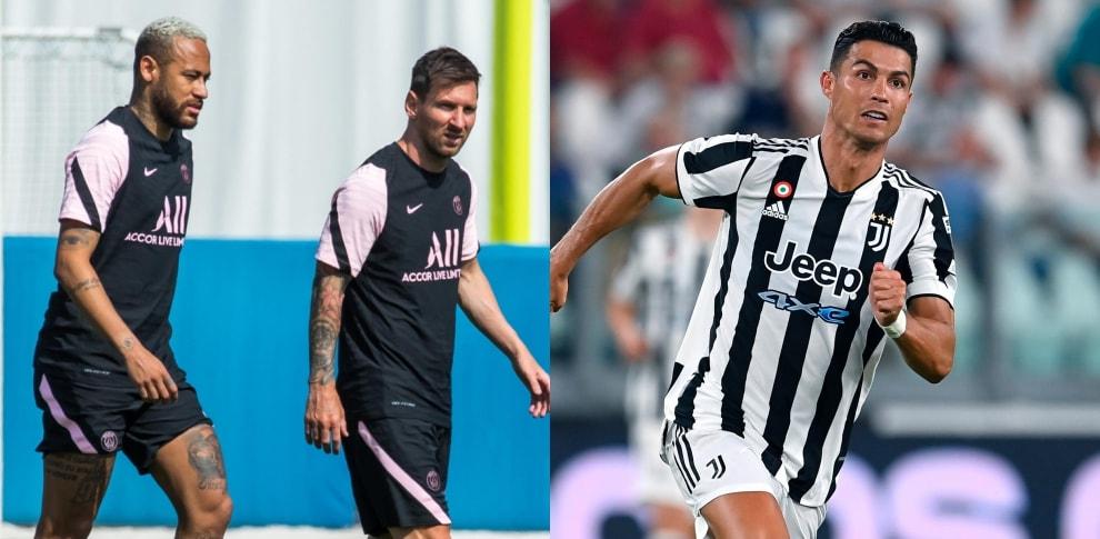 Ronaldo al Psg con Messi? La formazione di Pochettino sarebbe stellare!