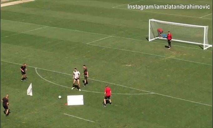 Milan, Ibrahimovic scalpita per il rientro: che gol!