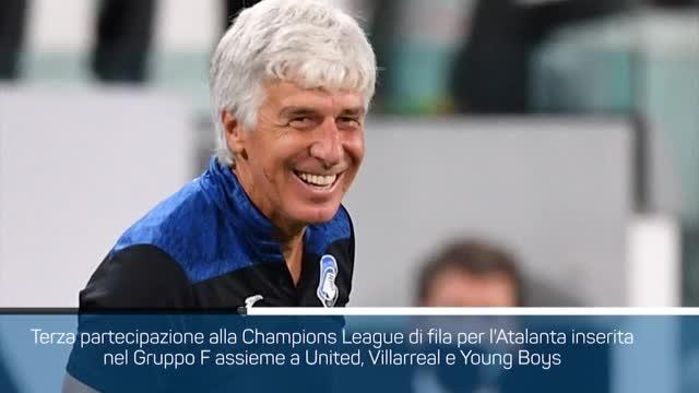 Sorteggi Champions League, il girone dell'Atalanta