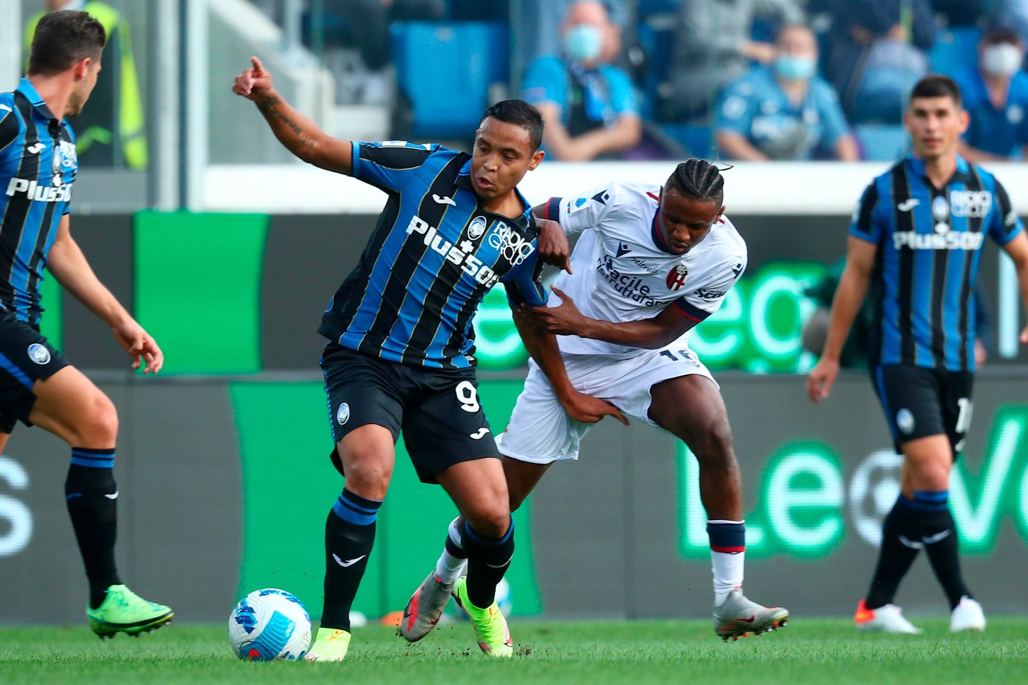 Atalanta; Zapata and Muriel worked separately
