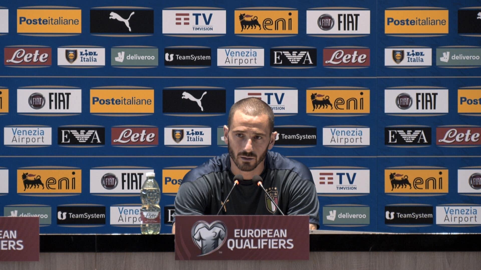"Bonucci:""Blocco Juve in nazionale"""