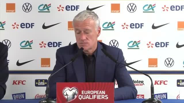 """L'attacco francese delude Deschamps: """"Dobbiamo migliorare. Stanchi alla fine"""""""