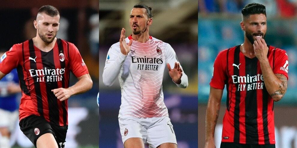 Milan, da Rebic con la Lazio a Ibra-Giroud con la Juve: le mosse di Pioli