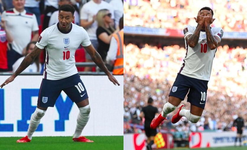 Lingard esulta come Ronaldo in Inghilterra-Andorra