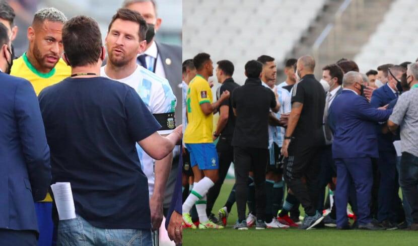 Che caos in Brasile-Argentina: incontro sospeso