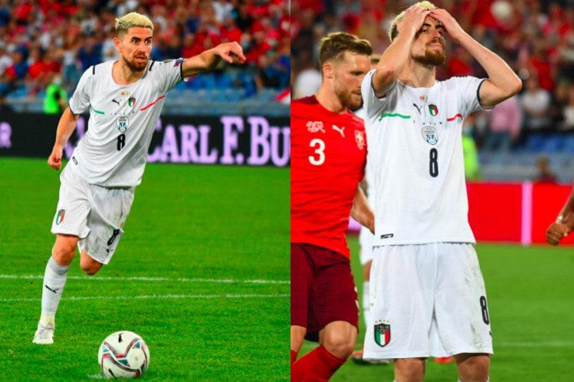 Jorginho fallisce il rigore e si dispera: Svizzera-Italia finisce 0-0