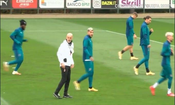 Milan, Ibrahimovic recuperato ci sarà con la Lazio