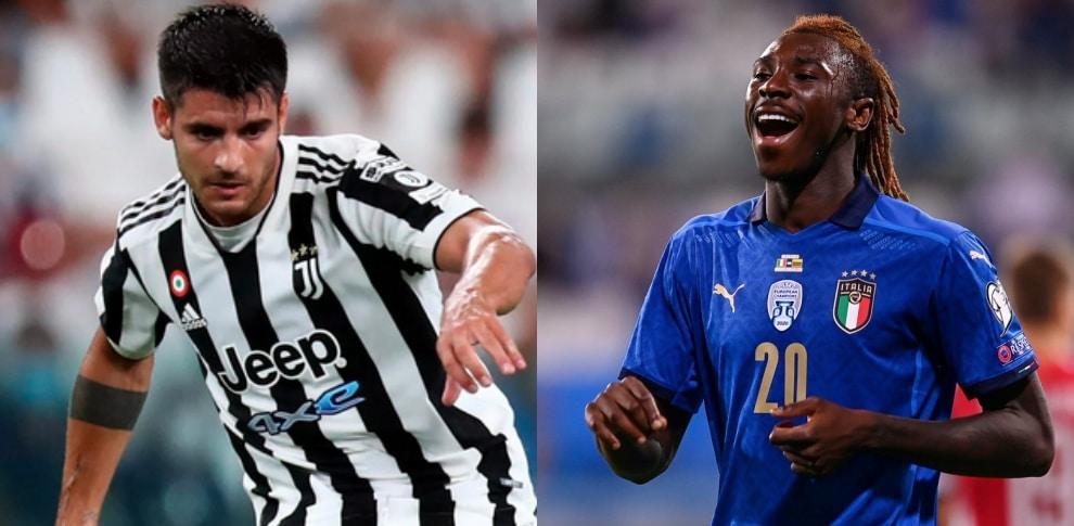 Napoli-Juve, la probabile formazione: Kean e Morata titolari