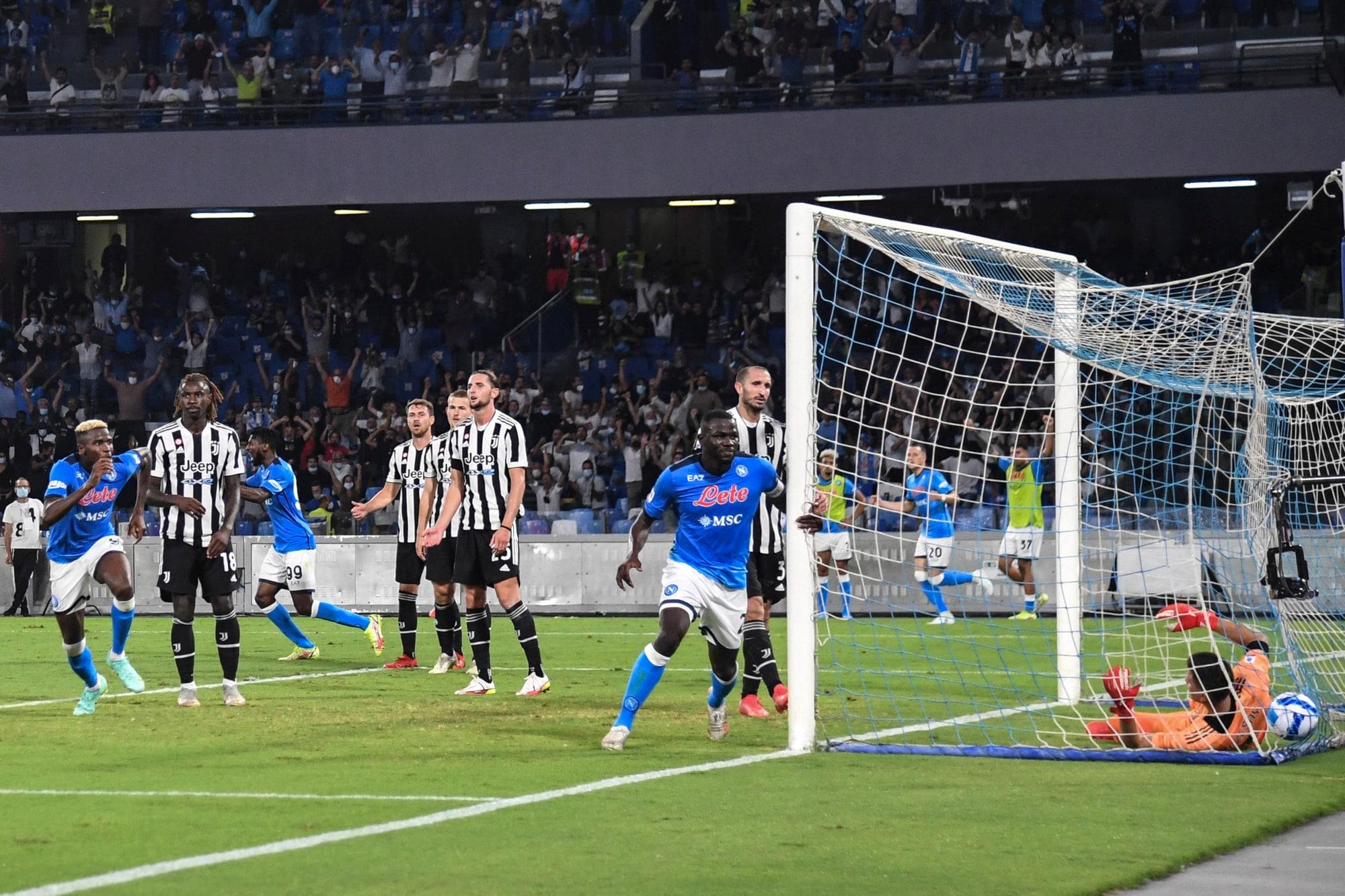Napoli-Juve 2-1: Morata illude, che errori di Szczesny e Kean!