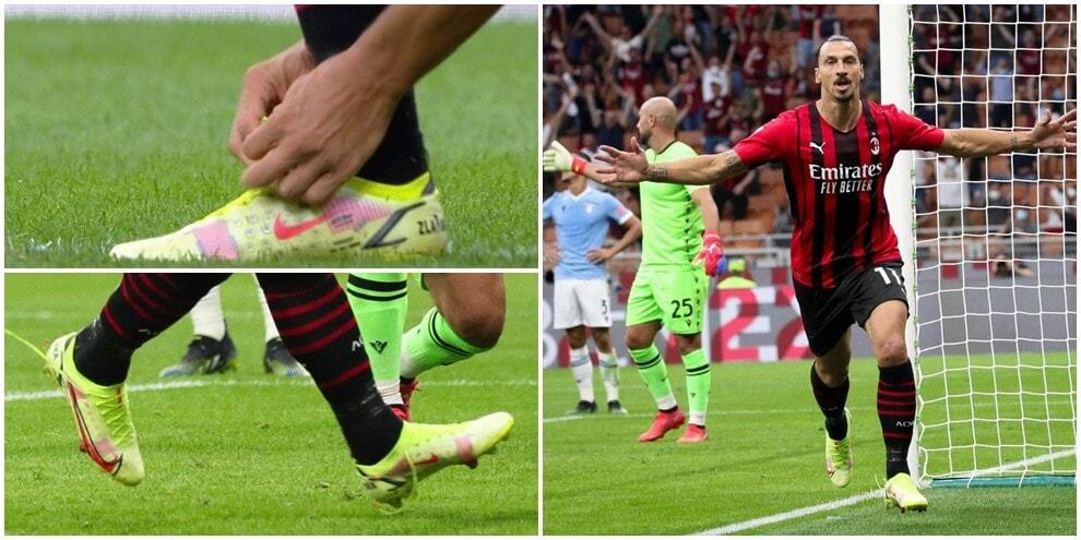 Incredibile Ibrahimovic: stende la Lazio con le scarpe slacciate