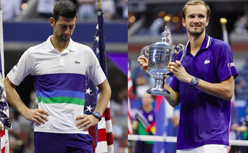 Delusione Djokovic, Medvedev alza il trofeo degli Us Open