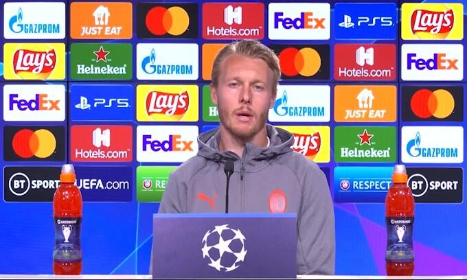 """Kjaer: """"Al Milan il miglior calcio della mia carriera"""""""