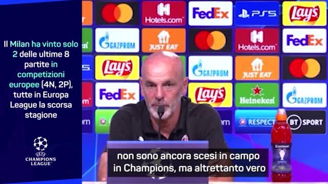 "Pioli vede Anfield: ""In Champions grazie alle nostre idee"""