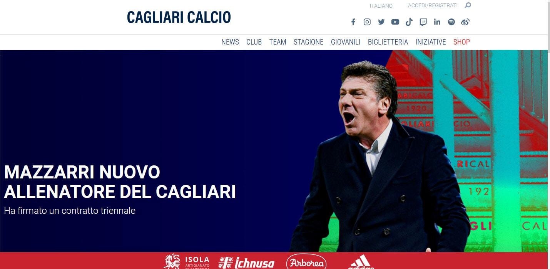 Ufficiale, Cagliari: è Walter Mazzarri il nuovo tecnico