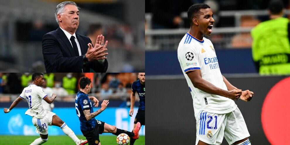 Rodrygo regala la vittoria ad Ancelotti. Inter ko con il Real Madrid