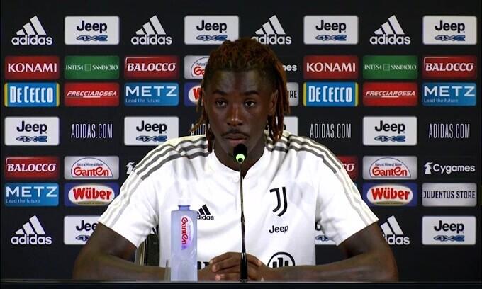 """Kean: """"Io dopo Ronaldo? Non sento il peso di questa cosa"""""""
