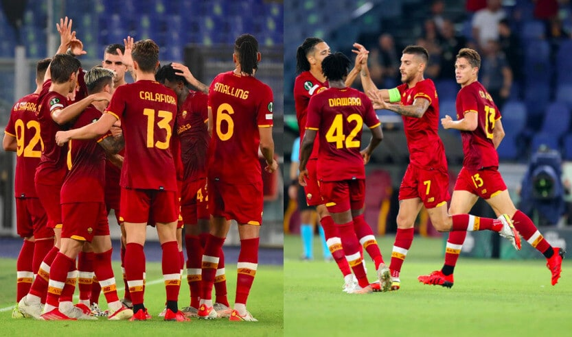 Roma, manita al Cska Sofia: Pellegrini protagonista con due gol