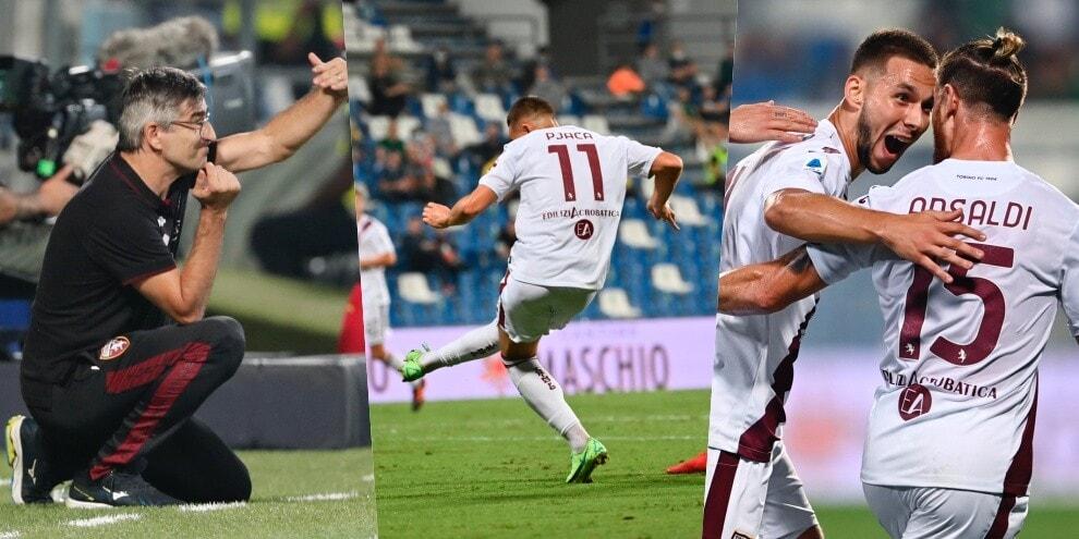 La mossa di Juric: dentro Pjaca che decide Sassuolo-Torino!