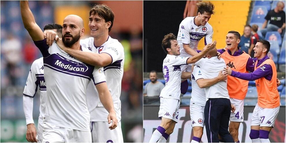 Sirigu non basta al Genoa: la Fiorentina vince per 2-1
