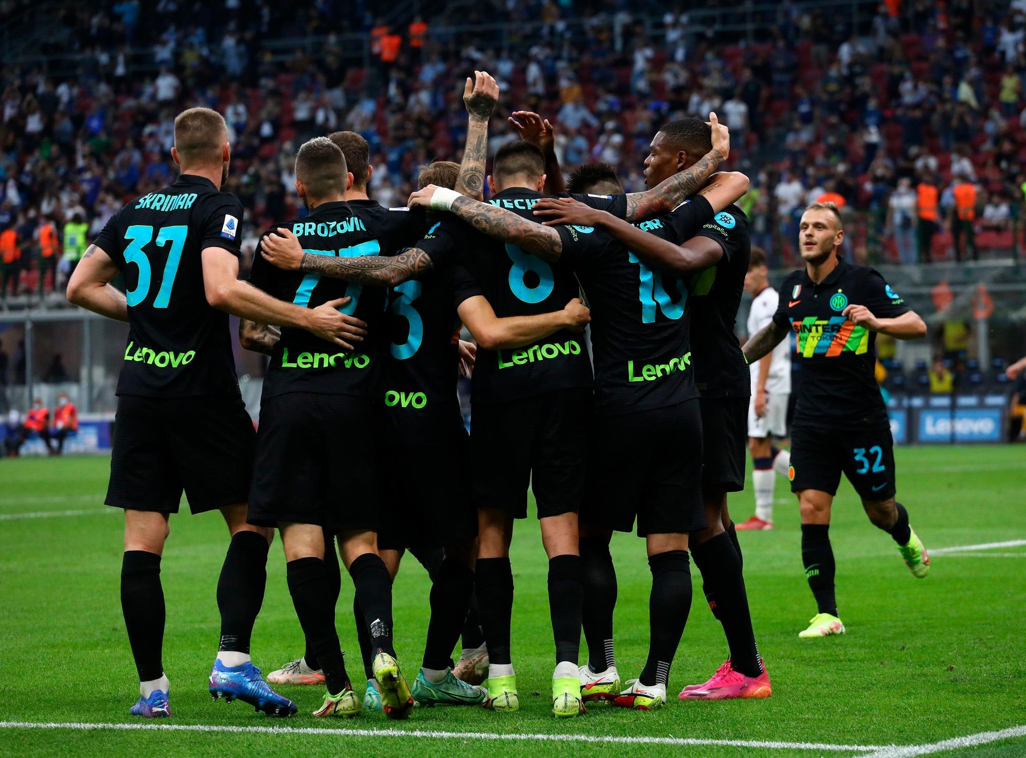 Inter, è un super show: travolto 6-1 il Bologna!
