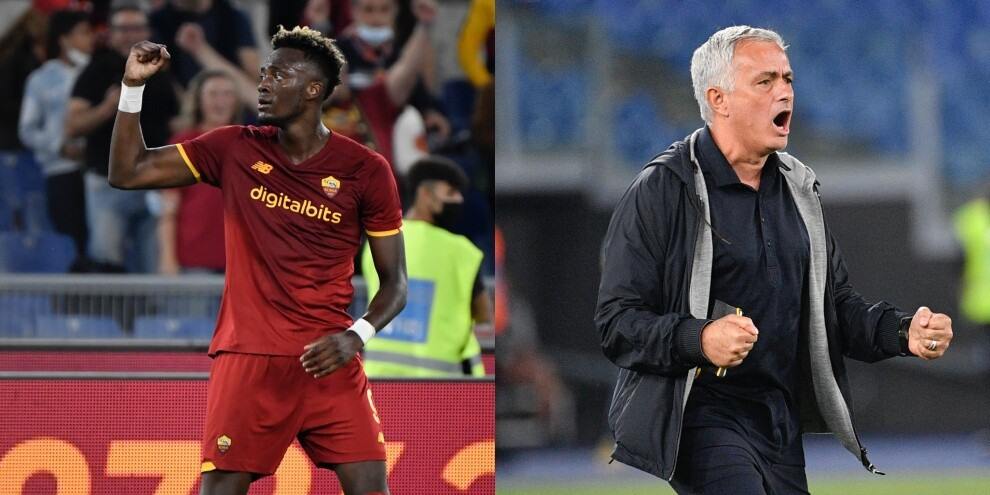 La Roma torna a vincere grazie ad Abraham. Mourinho è quarto