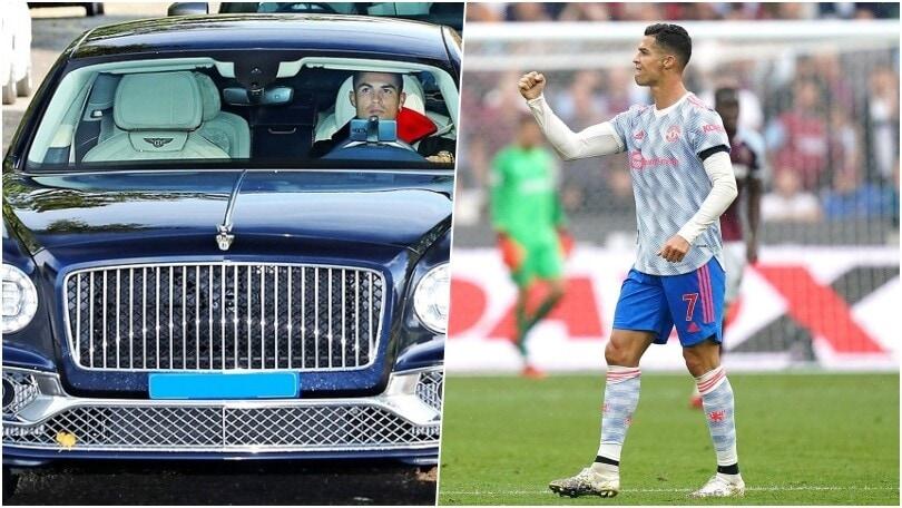 Cristiano Ronaldo, nuova supercar in garage: ecco Bentley Flying Spur