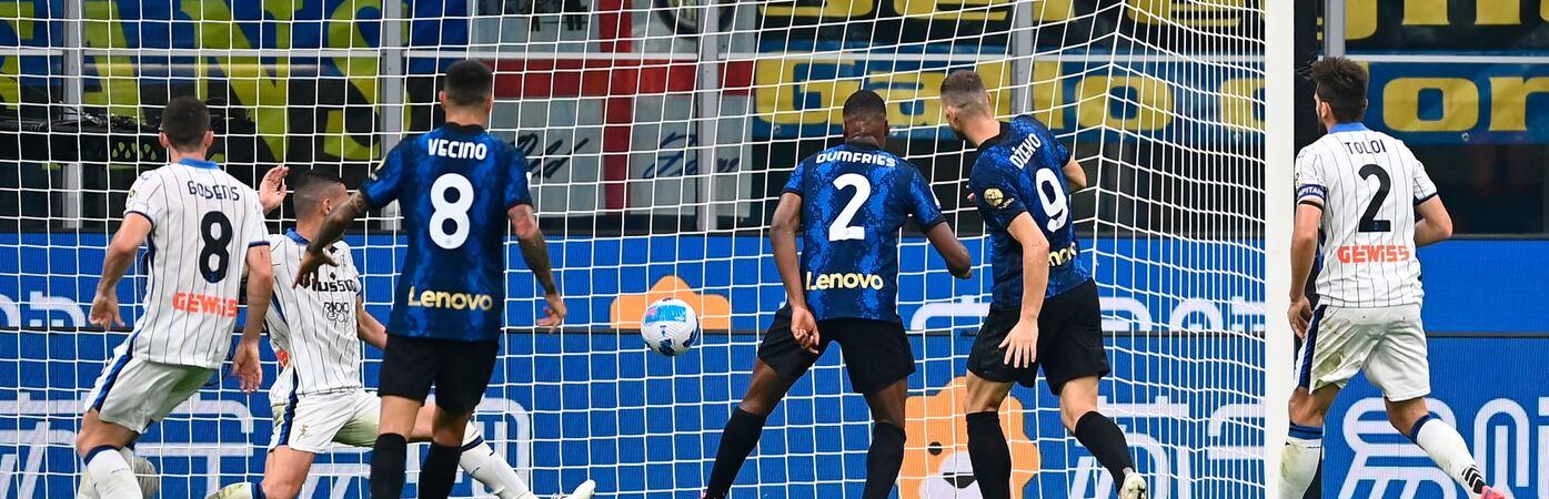 L'Atalanta spaventa l'Inter: Malinovskyi super, Dzeko salva Inzaghi
