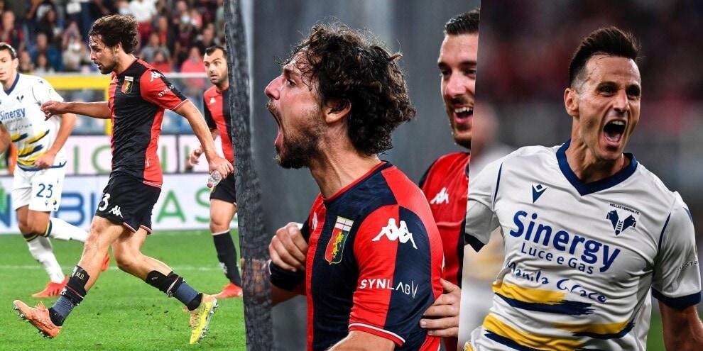 Super Destro non basta al Genoa: 3-3 show col Verona!