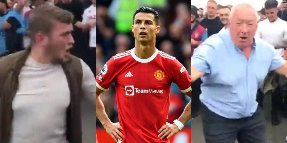 Ronaldo, che sfottò dai tifosi dell'Aston Villa!