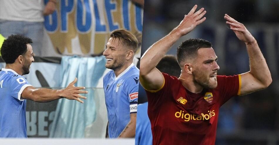 Lazio-Roma, è derby spettacolo: Sarri fa festa 3-2