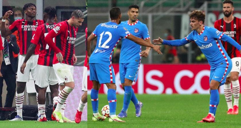 Milan, Leao illude. Griezmann e Suarez ribaltano il risultato