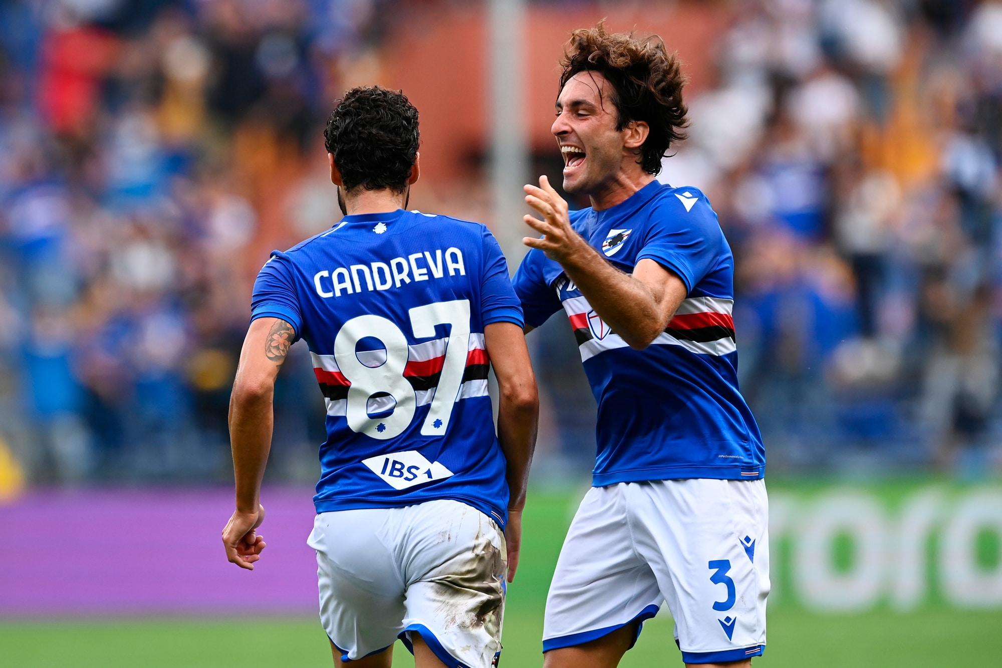 Candreva fa lo show, ma non basta: Samp-Udinese 3-3