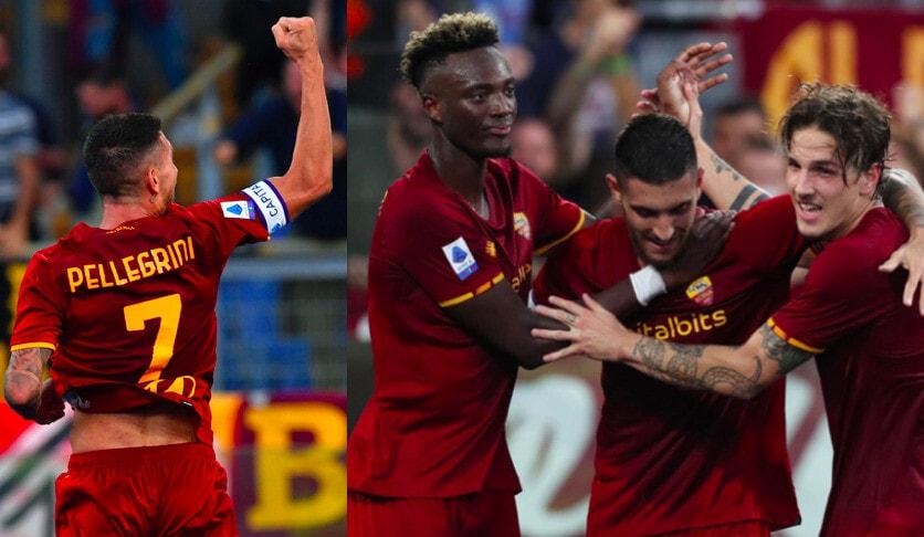 Roma, Pellegrini festeggia il rinnovo con il gol: Empoli ko