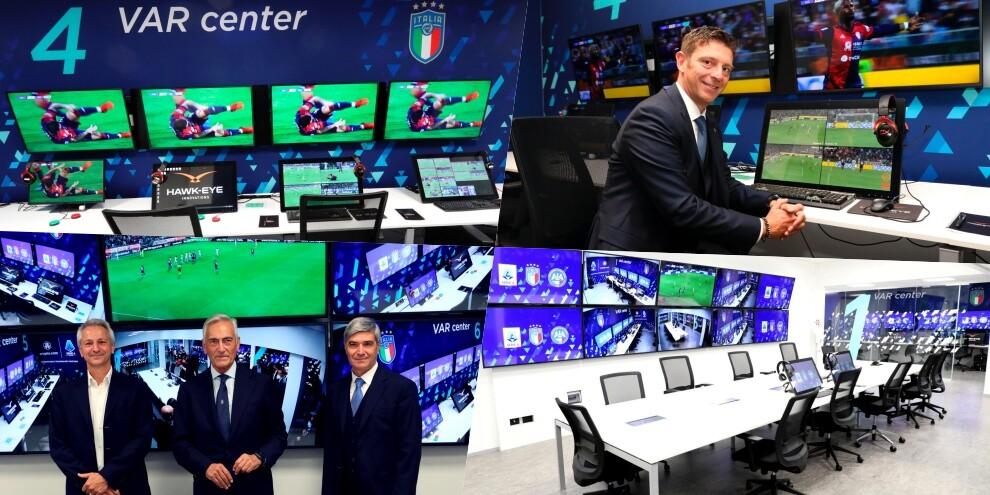 La Lega di Serie A presenta il nuovo centro Var