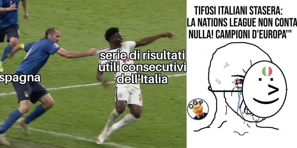 """Italia ko contro la Spagna, ironia e delusione social: """"L'arbitro è inglese?"""""""