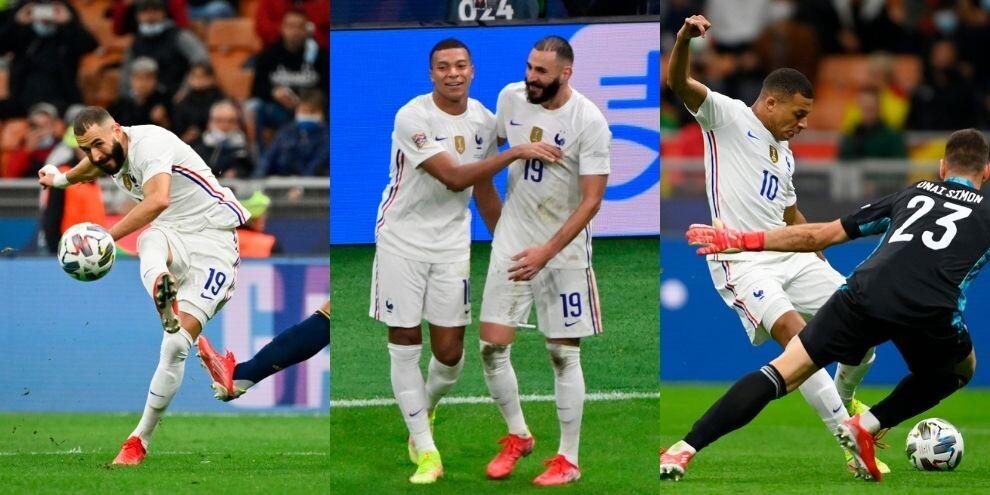Benzema infinito, firma di Mbappé: la Nations League è della Francia!