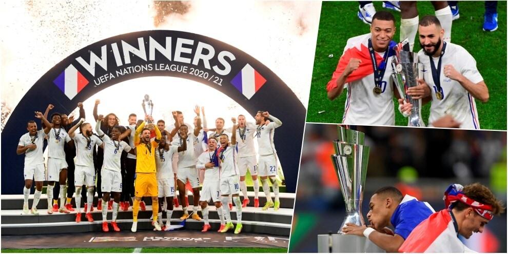 La Francia di Deschamps vince la Nations League: è festa