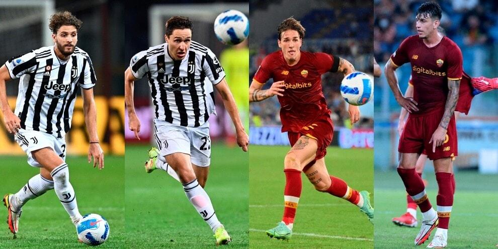 Juve-Roma, dieci Under 24 pronti per il big match