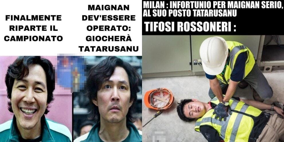 Milan, Tatarusanu al posto di Maignan? Meme e ironie sui social
