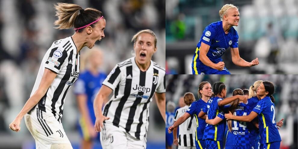 Bonansea in gol, ma la Juve Women perde con il Chelsea