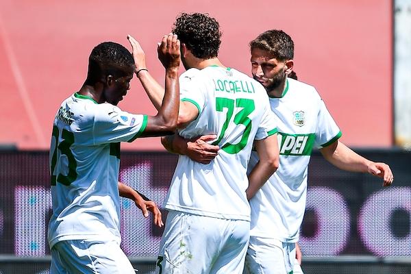 Genoa-Sassuolo 1-2: Raspadori-Berardi, sorpasso alla Roma
